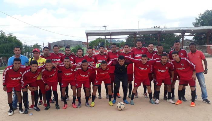 Las Palmitas manda en torneo de fútbol en Ciénaga de Oro