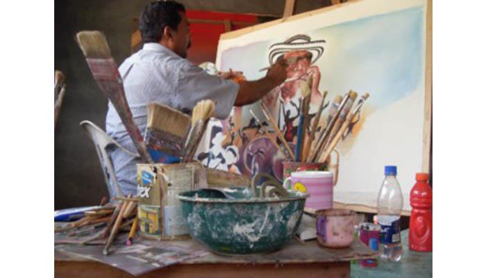 Pintor Alfredo Torres Ibáñez presentará obras inéditas