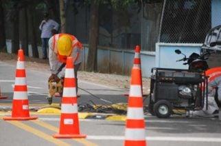 Instalan reductores de velocidad en la vereda Santafé de Montería