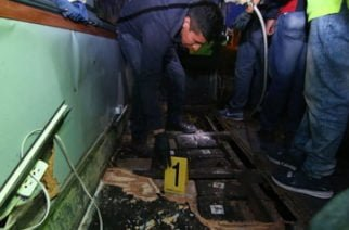 Bus que se accidentó en Ecuador transportaba ocultos 1,7 millones de dólares en marihuana