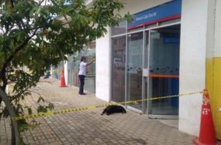 ¿Vandalismo sin control?: Dañan puertas de tres cajeros en Cereté