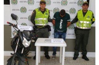 Capturado en vía Montería – Lorica con 1.000 dosis de coca