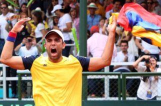 Colombia hace historia y se clasifica por primera vez al Grupo Mundial de Copa Davis