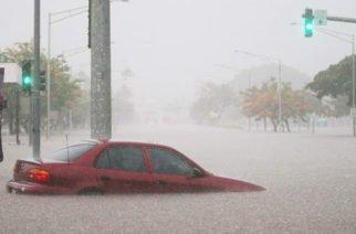 Lane, el huracán que comenzó a tocar a Hawái con fuertes lluvias