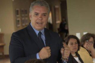 Presidente Duque lanzó el plan de choque 'El que la hace la paga'