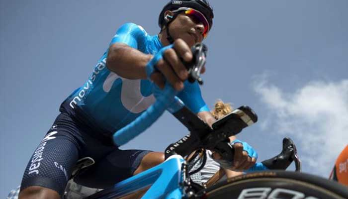 Nairo Quintana se mantiene en el Top 10 de La Vuelta a España