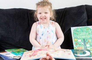 ¡Asombroso! Una niña de 3 años tiene un coeficiente intelectual mayor al de Einstein