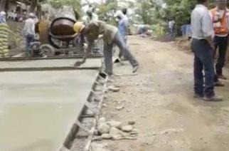 Pavimentación de la vía a San José de Uré se encuentra en el 50%