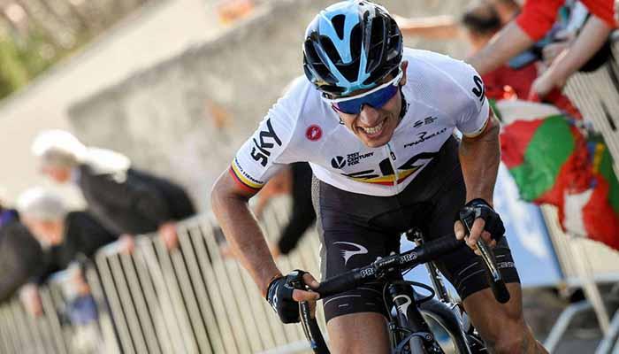 Sergio Luis Henao 12 en la sexta etapa y general de la Vuelta a Polonia