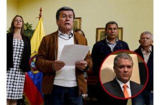 """""""Está haciendo trizas la paz"""": ELN sobre Iván Duque y su expulsión a Venezuela como garante del proceso"""