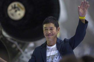 Un multimillonario japonés es el turista que viajará al espacio en 2023
