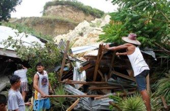 En Filipinas mueren 12 personas por avalancha de tierra