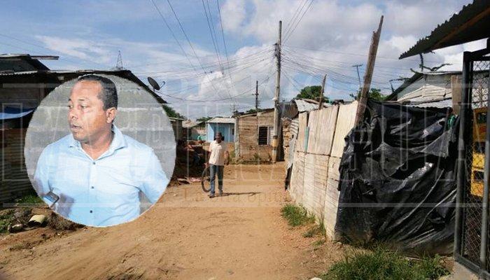 Barrio El Privilegio en total abandono por la administración