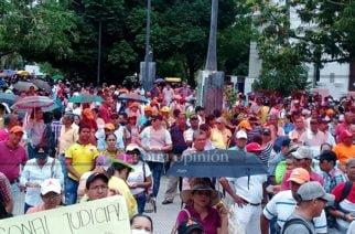 En minutos dará inicio en Montería el paro nacional de sindicatos