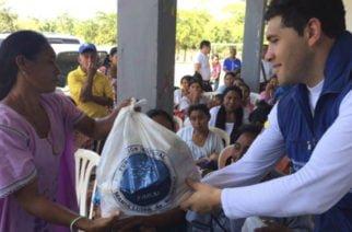 La Apartada continúa brindando ayuda humanitaria a víctimas del conflicto