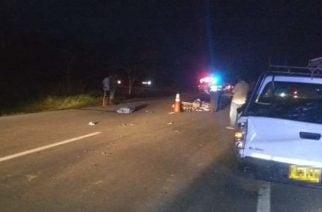 Un muerto en accidente de tránsito en vía Cereté-Ciénaga de Oro