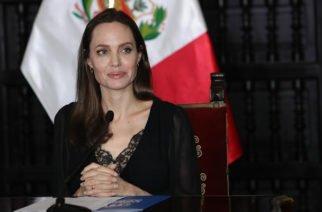 En rueda de prensa Angelina Jolie habló de los venezolanos en Perú