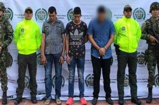 Autoridades capturan integrantes del 'Clan del Golfo' en Tierralta, Valencia y Montería