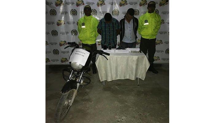 Capturados 2 presuntos integrantes del Clan del Golfo en Cereté