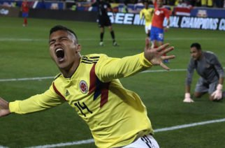 'Cucho' Hernández marcó el gol más rápido en un debut con la Selección Colombia
