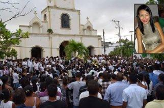 Masiva despedida para hija de alcalde de San Antero