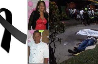 Dos muertos en Montelíbano por accidente en Avenida los Estudiantes