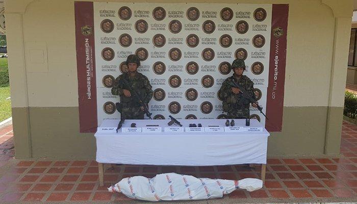"""Ejército neutraliza cabecilla del """"Clan del Golfo"""" con incidencia en Córdoba"""