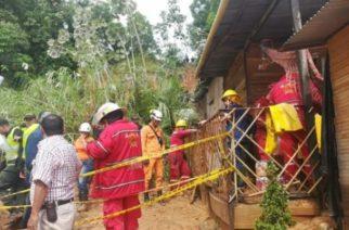 En Barrancabermeja derrumbe dejó nueve muertos