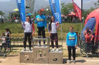Laura Ordoñez, la mejor colombiana en el Latinoamericano de BMX