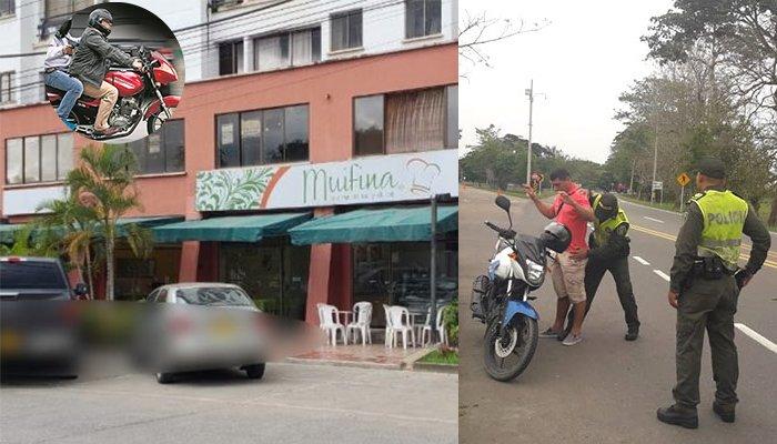 ¿En Montería persiguen más motos que ladrones?: Roban más de 2 millones de día en barrio el Recreo