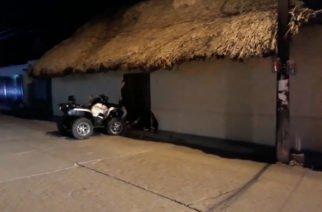 Otra vez menores de edad en moto: accidente de cuatrimoto contra casa en Sahagún