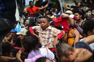 En imágenes: Así va la caravana de migrantes hondureños rumbo a Estados Unidos