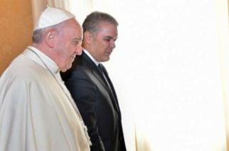 El Papa Francisco se pronunció ante el atentado ocurrido en Bogotá