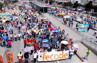 Organizaciones sindicales se irán a paro nacional este jueves