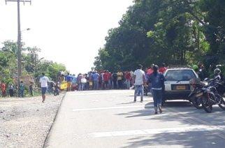 Habitantes de San Anterito protestan por falta de acueducto