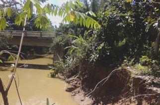 Puente en zona rural de Montelíbano a punto de colapsar