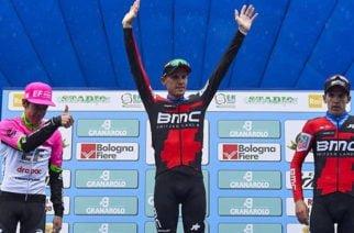 Rigoberto Urán se quedó con el segundo puesto en el Giro del Emilia