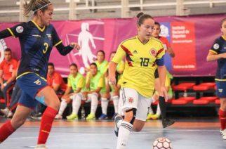 Selección Colombia femenina Sub 20 debutó con triunfo en el Sudamericano de Chile
