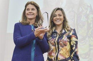 Vicepresidenta Marta Lucía Ramírez recibió el galardón Global Democracy