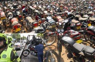 Cerca de 8.300 motos inmovilizadas este año en Montería: ¿Y la seguridad para cuando?