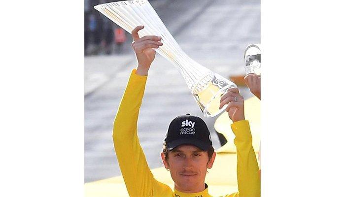 ¡Lo que faltaba! Le robaron el trofeo del Tour de Francia a Geraint Thomas