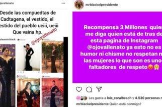 ¡Pica y se extiende! $3 millones ofreció Mr. Black por administrador de red social que burló a Yuranis