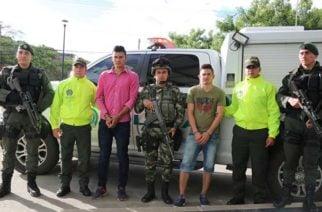Capturados alias J.J. y Noni responsables de múltiple homicidio en El Tarra