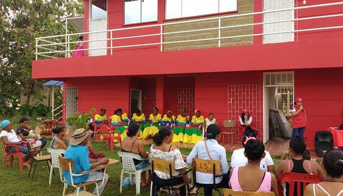 Comunidades afro de San José de Uré recibieron dotación mobiliaria