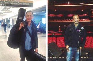 Harold Lengua, músico y cantautor orgullo de Montelíbano