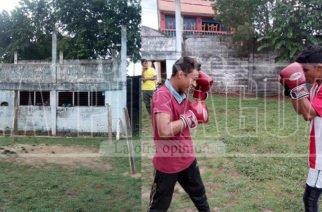 Boxeadores de Canalete que entrenan entre ruinas piden apoyo