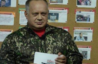 Diosdado Cabello asegura que Petro pidió a Venezuela financiación para su campaña a la presidencia