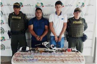 Dos capturados luego de robar ocupantes de camión de cerveza en San Pelayo