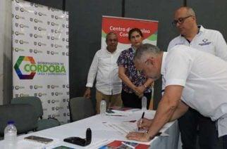En Córdoba se firma acuerdo para promover empleo en la población vulnerable