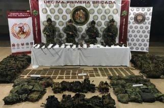 Fuerte golpe del Ejército al Clan del Golfo al sur de Córdoba